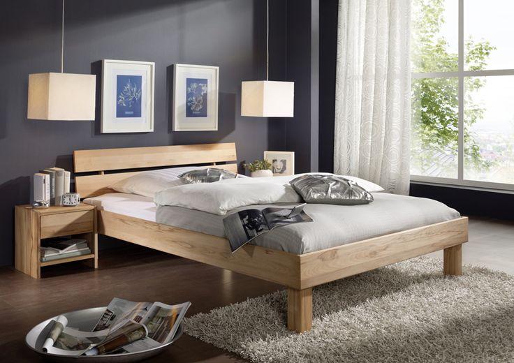SAM® Holzbett 180 x 200 cm massive Kernbuche geteilt Campino 409€