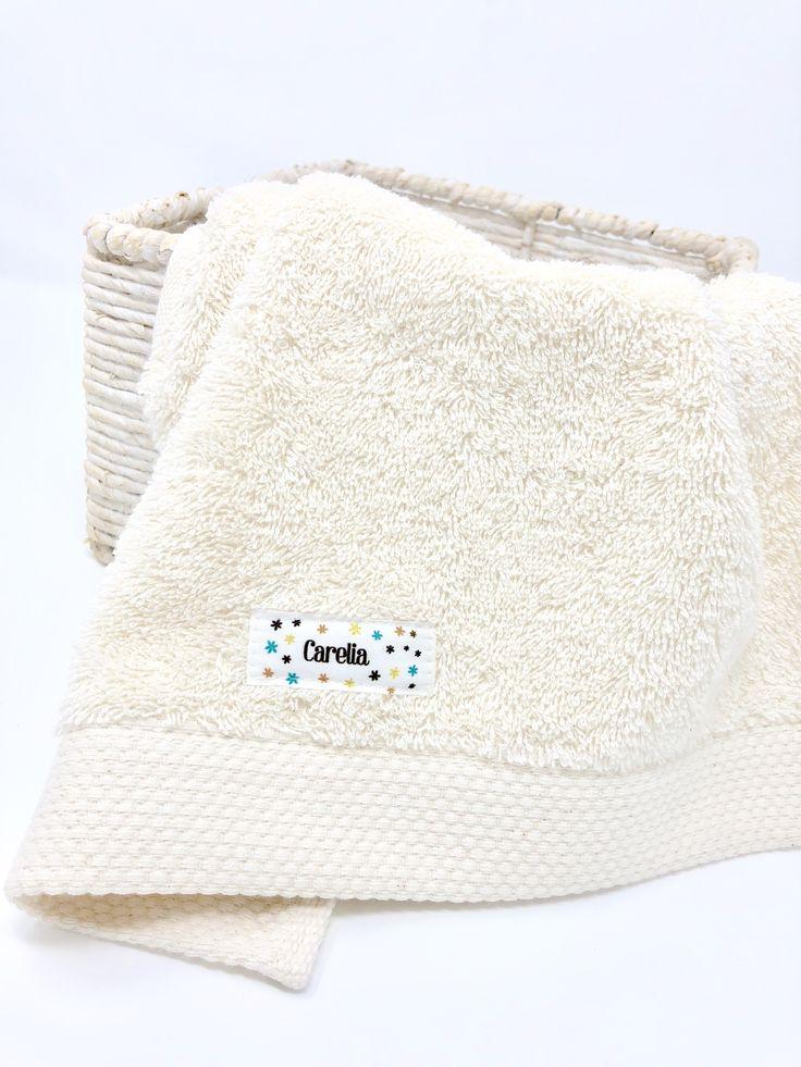 Organic Cotton #towel #baby www.carelia.es