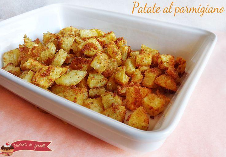 patate al parmigiano croccanti ricetta contorno gustoso e saporito