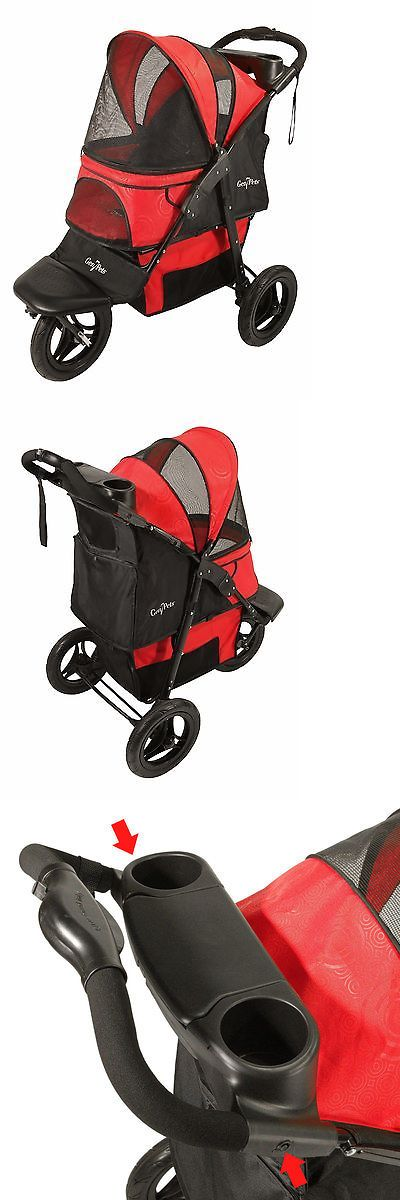 Strollers 116380: Gen7pets G7 Jogger Pet Cat Dog Stroller For Pets Up To 75 Lbs - Pathfinder Red -> BUY IT NOW ONLY: $184.99 on eBay!