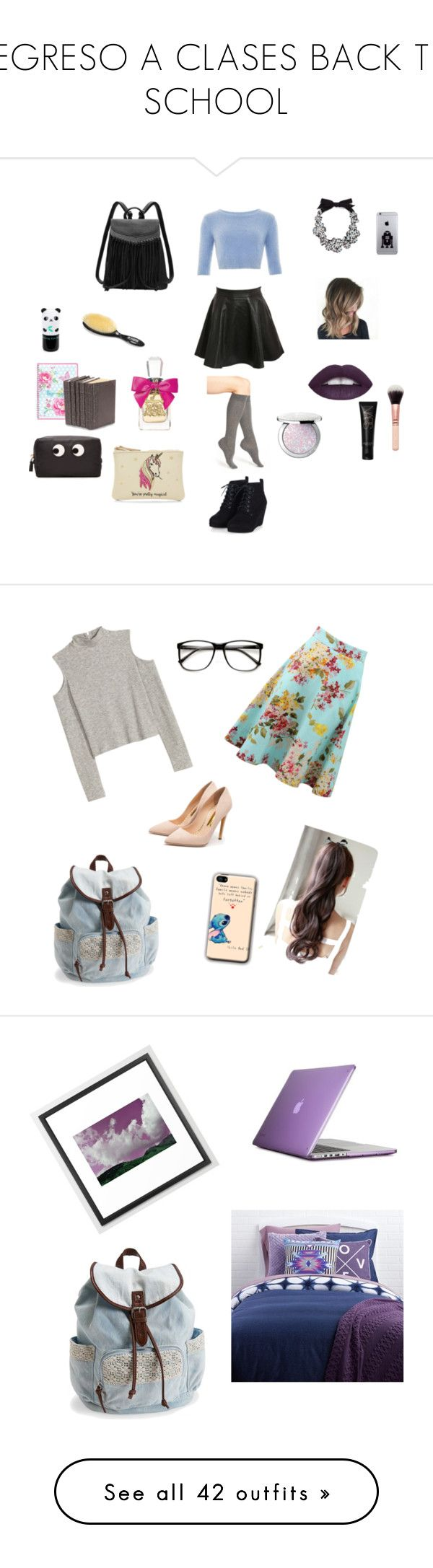 """REGRESO A CLASES BACK TO SCHOOL"" by karla-renne on Polyvore featuring moda, J.Crew, Nordstrom, Pilot, Tony Moly, Guerlain, Juicy Couture, GreenGate, Decorative Leather Books y Anya Hindmarch"