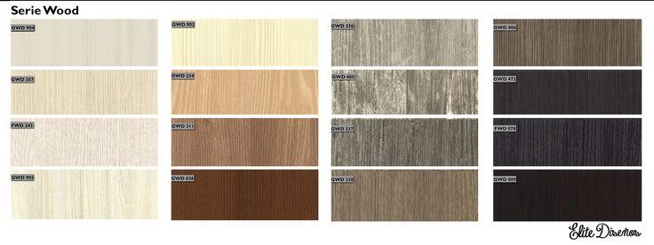 ¿Ya conoces nuestra serie Wood de Infeel? Una serie de espectaculares patrones de diversas maderas. Estos acabados te ofrecen una opción de decoración innovadora para crear ambientes con texturas increíbles. #Revestimientos #Autoadhesivos #Infeel #EliteDiseños
