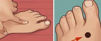 Als je op DIT punt van je voet drukt, voordat je naar bed gaat, gebeurt er DIT met je lichaam.