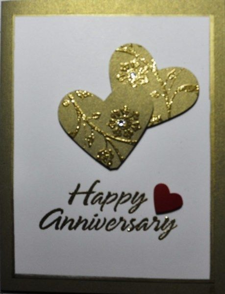 Anniversary card - Homemade Cards, Rubber Stamp Art, & Paper Crafts - Splitcoaststampers.com
