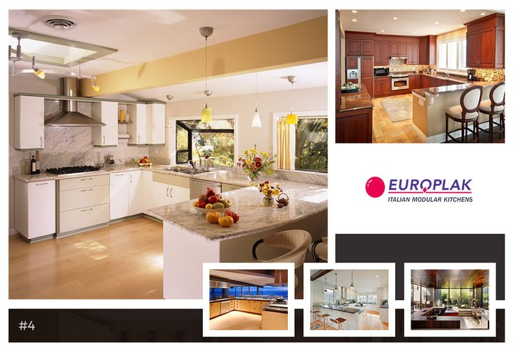 G-shaped kitchens offer a lot of storage options and work space. They can also be very practical as everything is in easy reach.  For more details Visit : http://www.europlak.in/ #EuroplakIndia #ModularKitchen