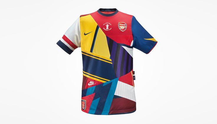... NIKE CREATES COMMEMORATIVE ARSENAL SHIRT FOLLOWING FA CUP WIN Football  ( soccer) Pinterest Arsenal FC ... 5f77a85e3