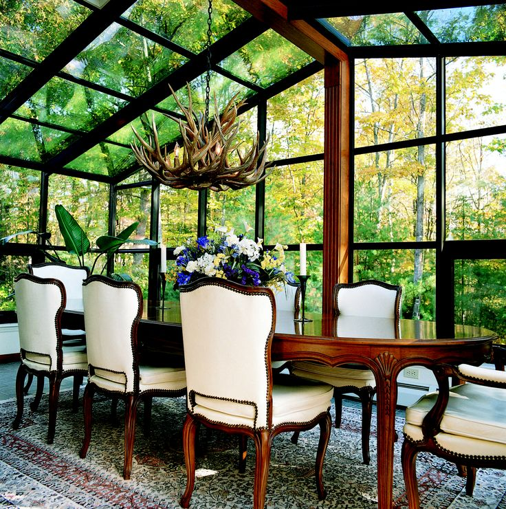 Glass Roof Cathedral Sunroom CONTACT US FOR MORE INFO: Http://www. Sunroom  DiningFour Seasons RoomLight ...