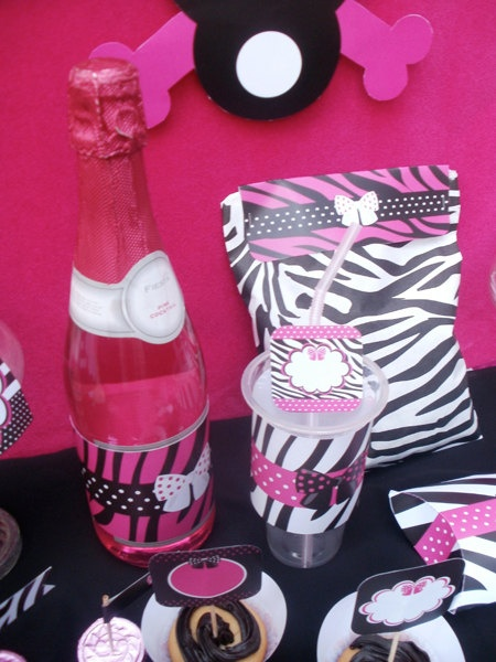 Diva Rock Star Animal Print Custom Birthday by blackleafdesign