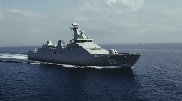 Indonesia Navy KRI Raden Eddy Martadinata-331. (defence.pk/mandala)