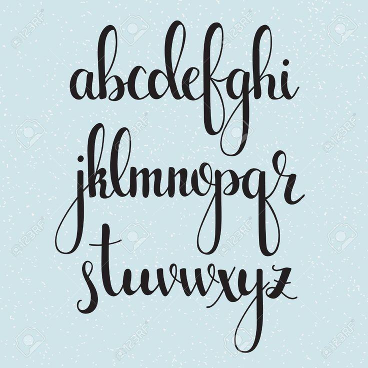 Meilleures id�es � propos de modern calligraphy