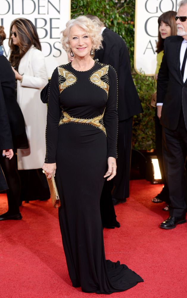 Golden Globes 2013 Best-Dressed: I have such a lady crush on Helen Mirren who always looks out of this world amazing