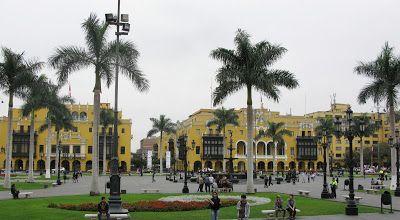 Plaza Mayor - Lima - Peru