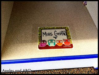 Genius! Give yourself a cubby so when the kiddos create picture/notes/etc. for you they can put them in the cubby instead of on your desk!!