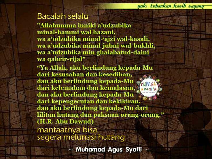 Bacalah selalu doa ini semoga Allah membebaskan kita dari jeratan hutang. Aamiin ya rabbal alamiin
