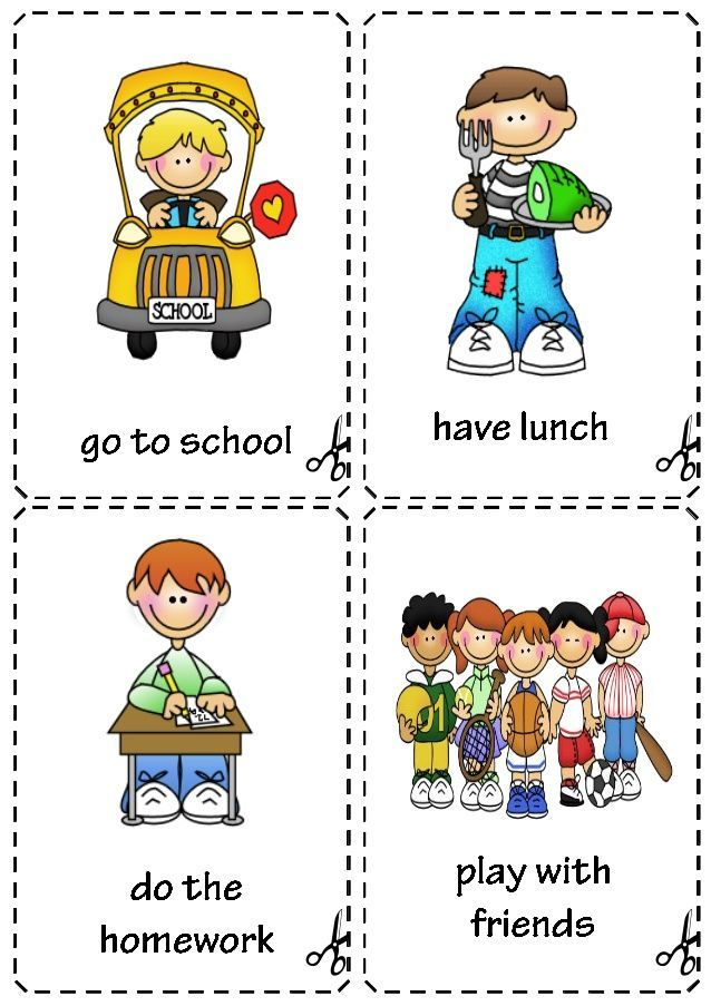 childs daily activities - 638×903