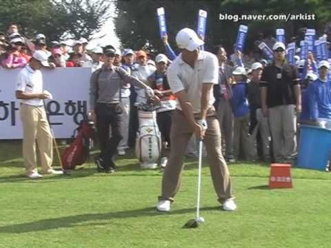 Anthony Kim slow motion Driver Golf Swing (5) - YouTube