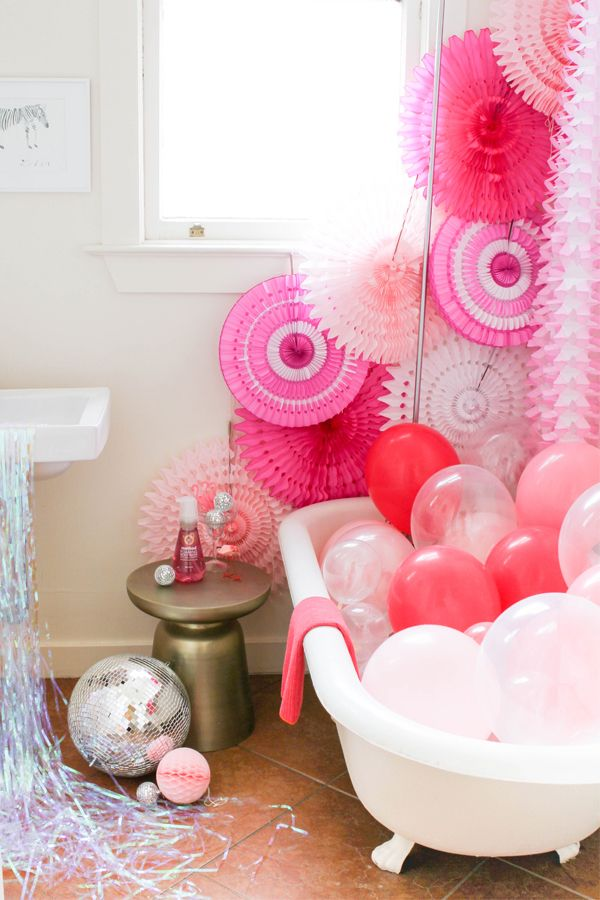 Party in the Shower | Oh Happy Day!
