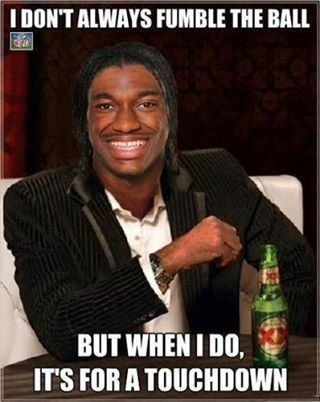 RGIII can do no wrong ♥  #RGIII  #Redskins  #Football  #HTTR