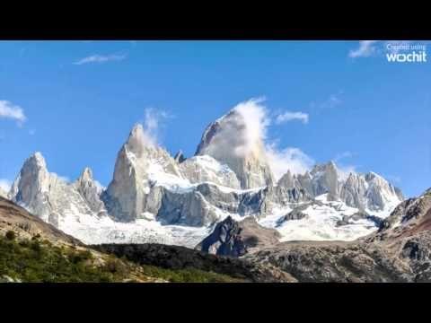 El Chalten, Argentina, Patagonia - Mt Fitzroy, Viedma Glacier, Los Glaci...