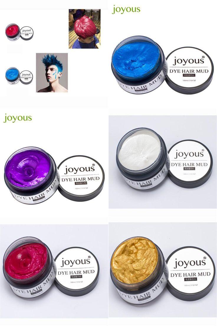 [Visit to Buy] jojous Joyous One-time Dye Hair Dye Hair Spray Mud Cream Men's Hair Dye best seller #23 #Advertisement