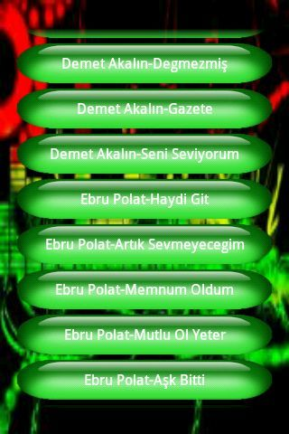 Bir birinden güzel Türkçe Pop Müzikler bu android uygulamasıyla cebinizde.Uygulama 50 den fazla müzigi sizlere sunuyor.<p>Etiketler:Türkçe pop müzik,müzik dinle
