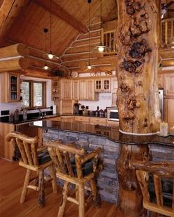 my dream home :)   Cabin Breakfast Bar