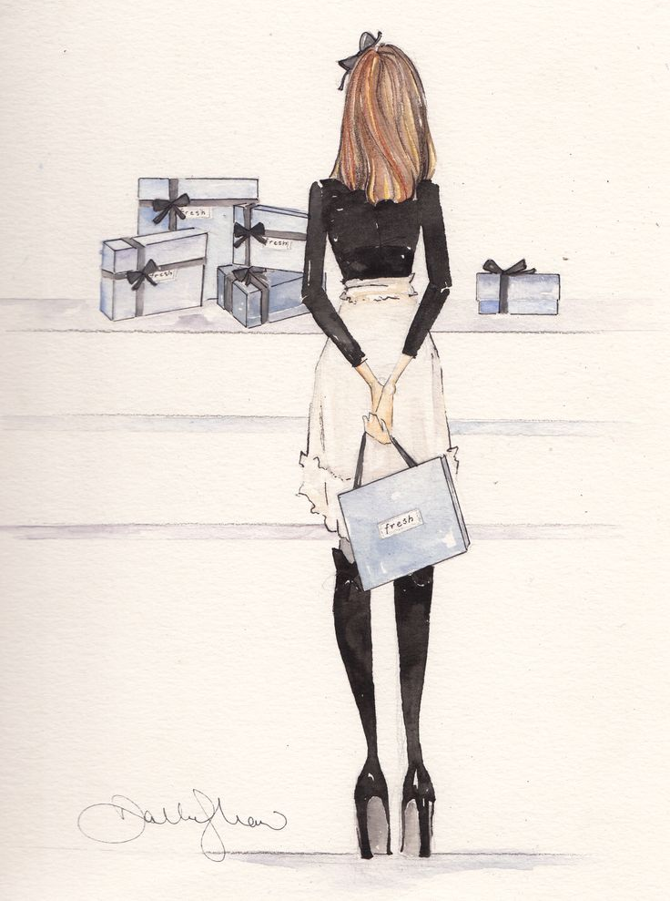 Shopping: Pretty Illustrations, Art Illustrations, Fashion Style, French Gifts, Illustrations And, Dallas Shaw Illustrations, Fashion Illustrations, Fresh Gifts, Holidays Shops
