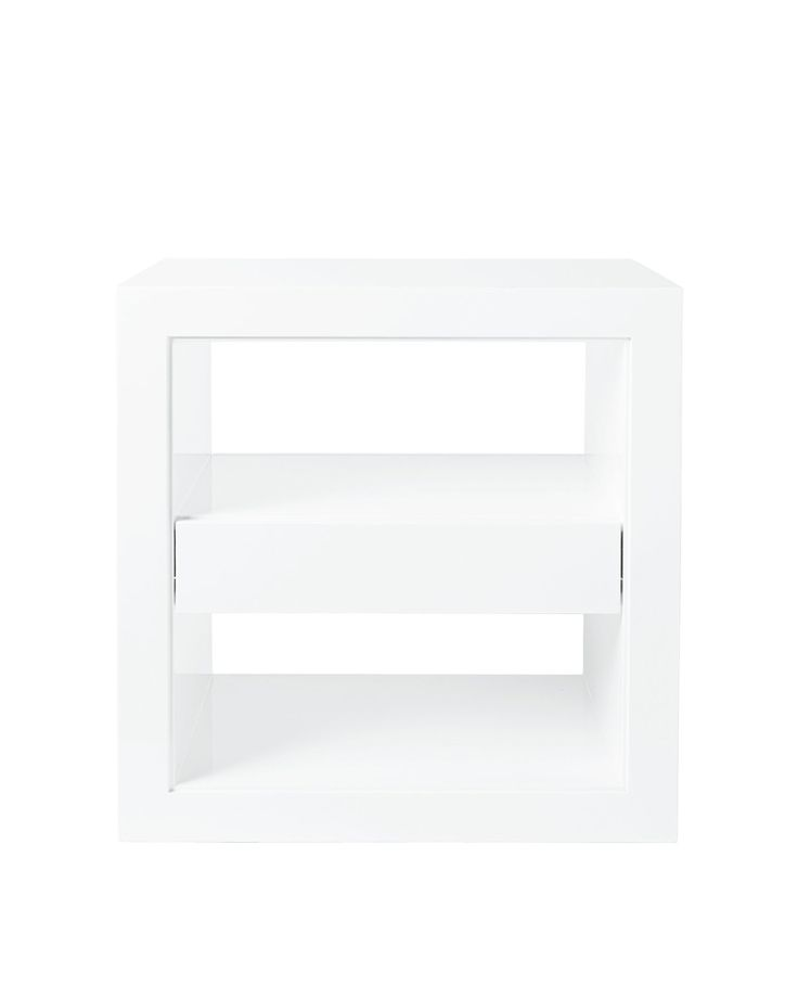 Atelier Side Table With Drawer - Tables | Serena and Lily