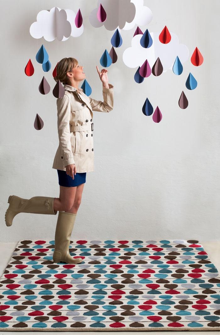 Lluvia carpet by GAN.  #introdesign #carpets #rugs #design #textiles #gan #ganrugs