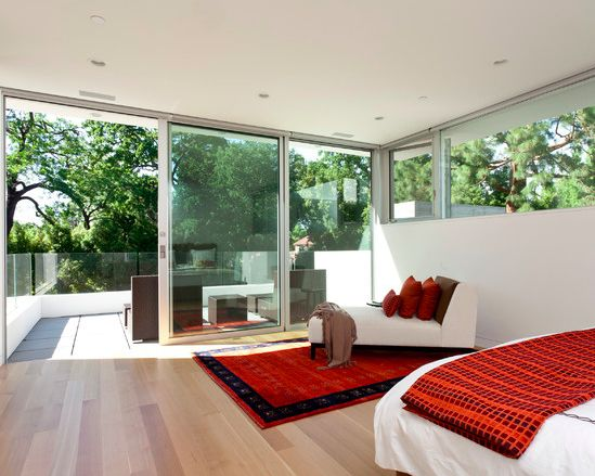 Love the window and the outdoor space