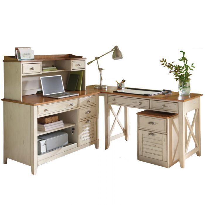 Shop For The Sarah Randolph J Ocean Isle Complete Desk At Virginia Furniture Market