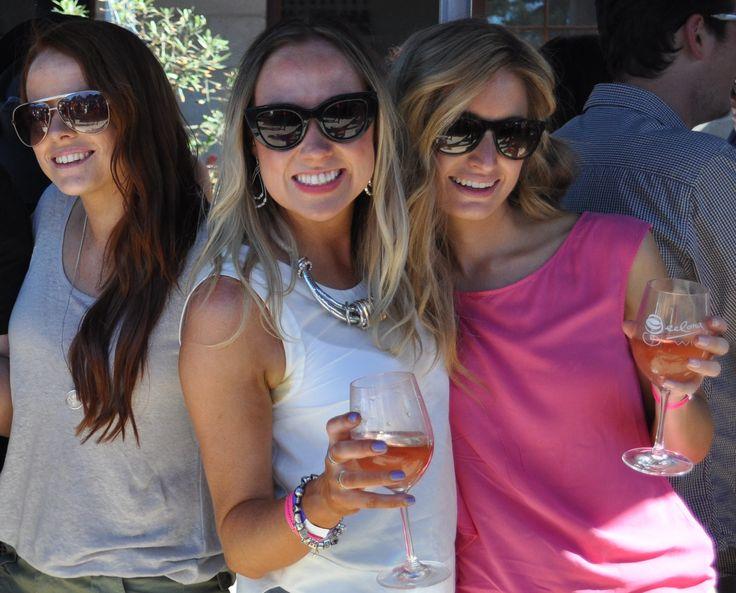 Lovely ladies at Leura Park Estate, Bellarine Peninsula, Geelong Victoria. #Toast2013