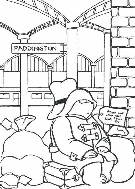 paddington bear coloring pages educational fun kids coloring pages and preschool skills worksheets