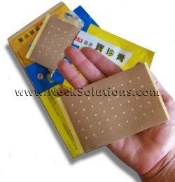 pain relief patches with frankincense & myrrh