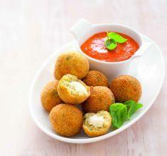 Crocchette di quinoa e provola con salsa di peperoni rossi - Tutte le ricette dalla A alla Z - Cucina Naturale - Ricette, Menu, Diete