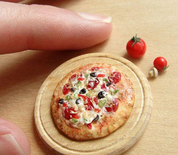 La comida miniatura de Kim Burke