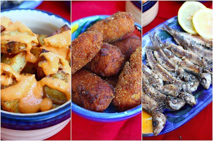Patatas bravas, croquetas jamon & gegrilde sardines. In dit recept vinden jullie mijn drie favoriete Spaanse tapas. De costa moet je er even zelf bijdenken.