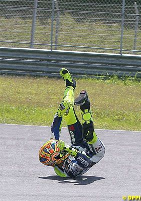VR funny 1 was he used 2 roll new leathers on...