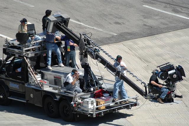 Working off the Shotmaker camera car for IMAX NASCAR 3D