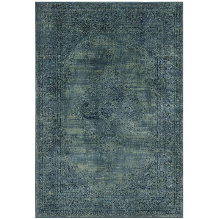 Safavieh Vintage Turquoise Viscose Area Rug 810 X 122