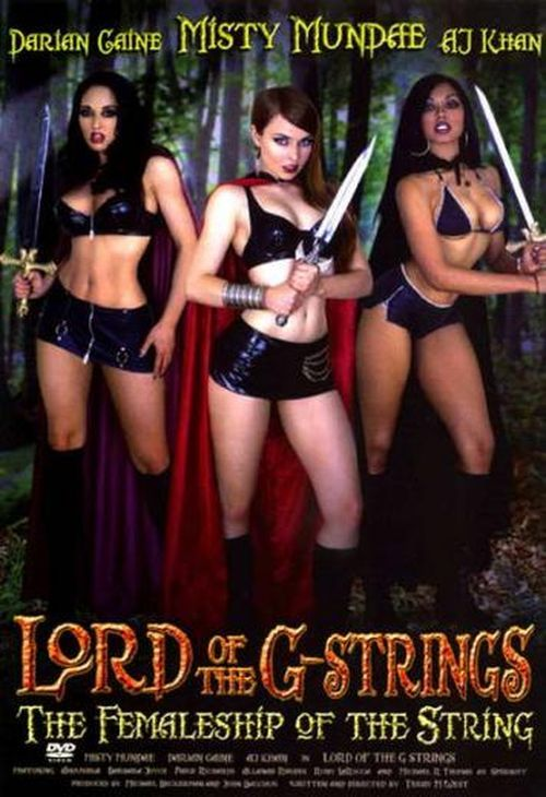Lord of the strings and other sci fi porn parodies-939