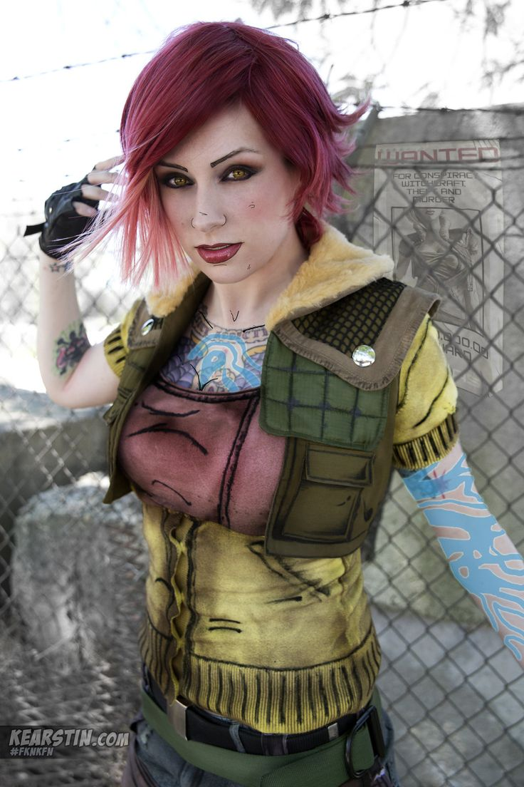 Lilith cosplay from Borderlands, by Kearstin Nicholson ...