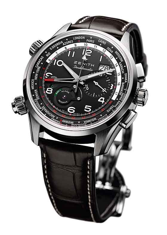 The @zenithwatches Pilot Doublematic. #zenithwatches #watchtime #chronograph