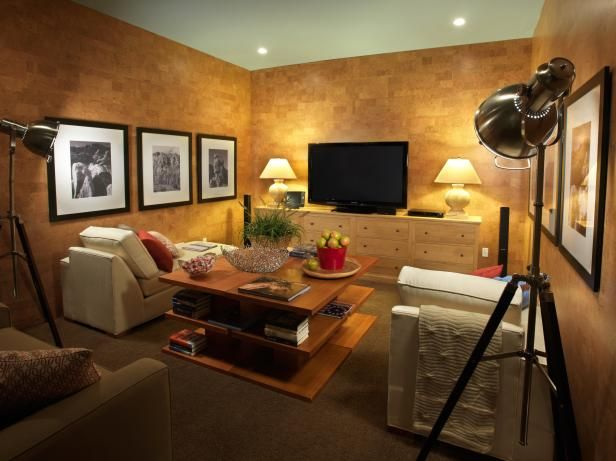 Bonus Rooms From HGTV Dream Homes Projection ScreenLiving Room