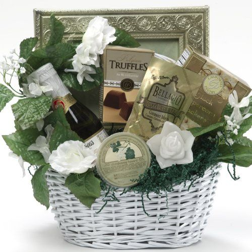 Art of Appreciation Gift Baskets Best Wishes To You Wedding Gourmet Food Gift Basket, Small - http://mygourmetgifts.com/art-of-appreciation-gift-baskets-best-wishes-to-you-wedding-gourmet-food-gift-basket-small/