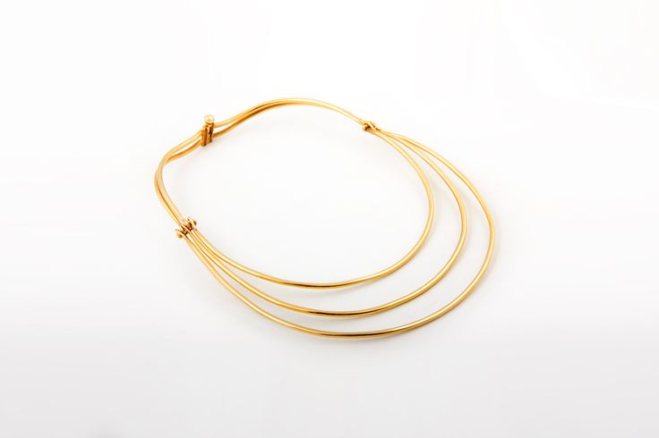Nura Necklace - Copper Necklace with 24k gold plating. From Collection no.1