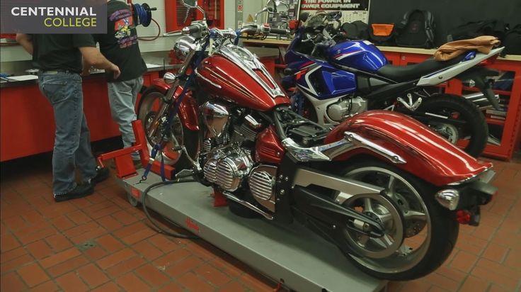 Centennial College: Motorcycle Technician Apprenticeship