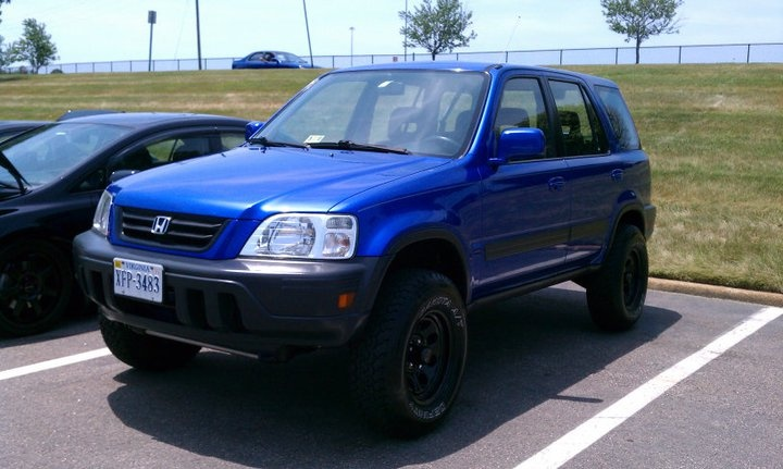 Honda Crv Lifted Mine Will Be Custom Painted