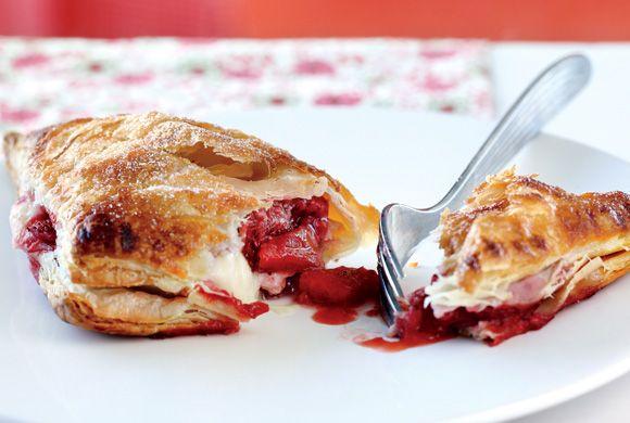 Strawberry Cheesecake Turnovers recipe