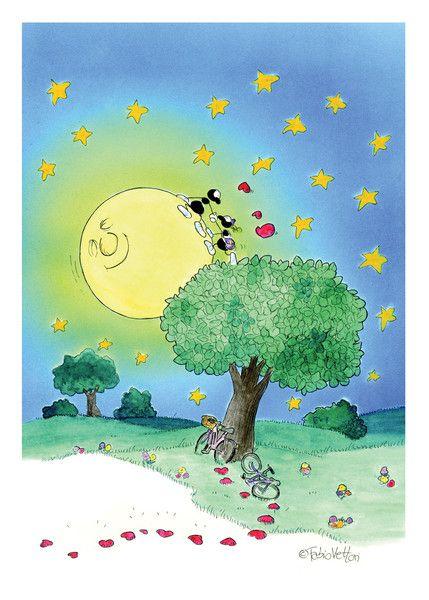 """Puzzle """"Luna degli innamorati"""". #formiche #puzzle #luna #amore #innamorati"""